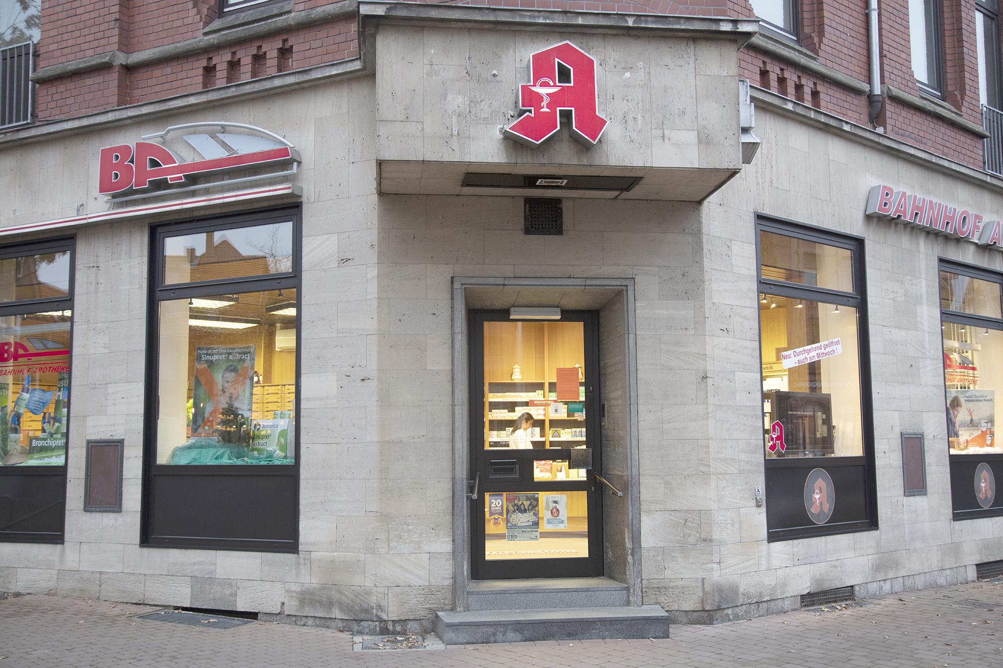 Ihre Bahnhof-Apotheke in Osterode background image
